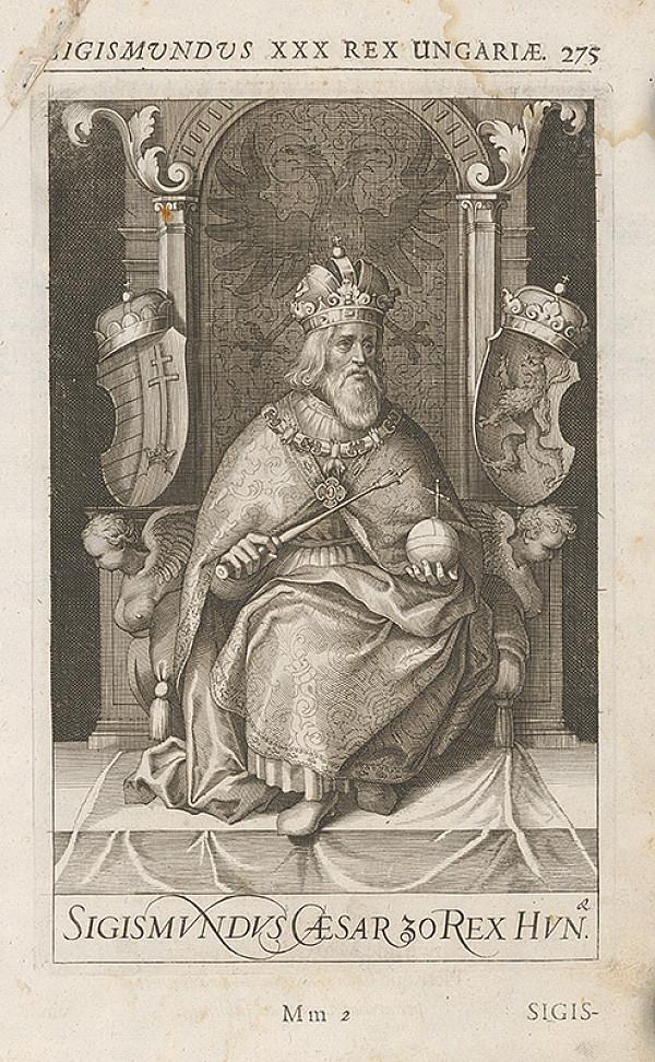 Stredoeurópsky grafik zo 17. storočia – Portrét Žigmunda Luxemburského