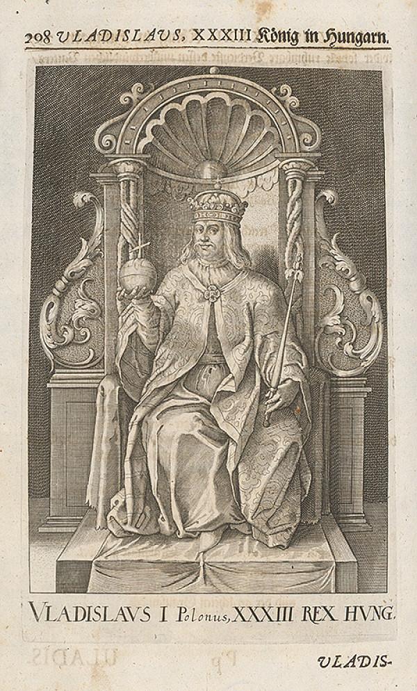 Stredoeurópsky grafik zo 17. storočia – Vladislav III. (I.) Jagelovský