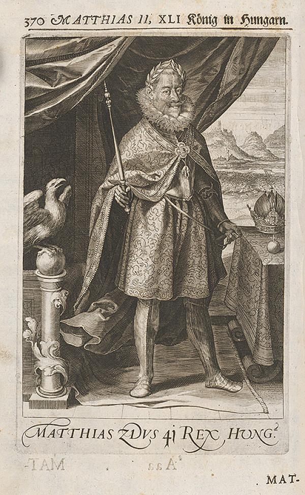 Stredoeurópsky grafik zo 17. storočia – Matej II. Habsburský