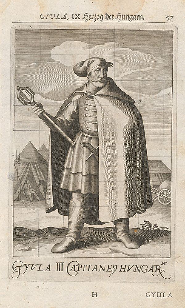 Stredoeurópsky grafik zo 17. storočia – Uhorské knieža Gejza