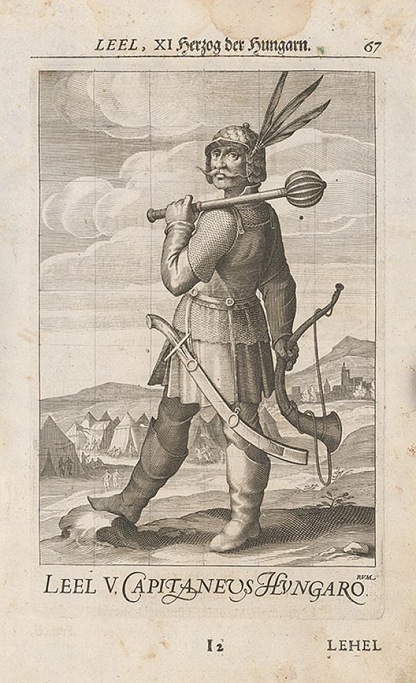 Stredoeurópsky grafik zo 17. storočia – Leel, XI. Herzog der Hungarorum
