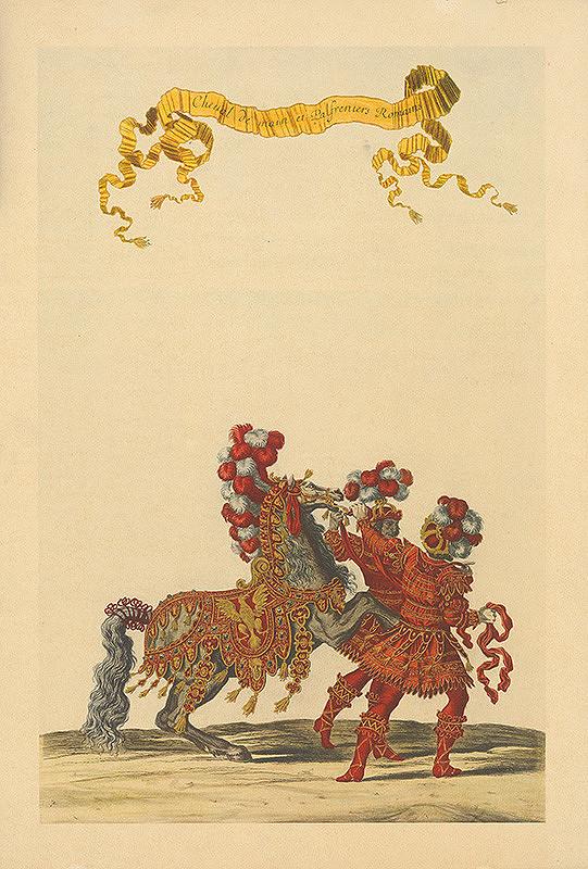 Stredoeurópsky grafik zo začiatku 18. storočia - Rimania