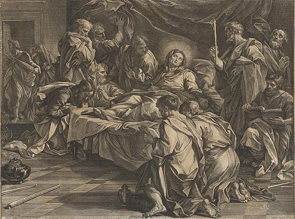 Carlo Maratti, Neznámy rytec - Smrť Panny Márie