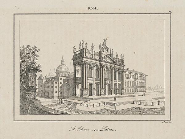Adolf Gnauth - Bazilika St. Giovanno in Laterano v Ríme