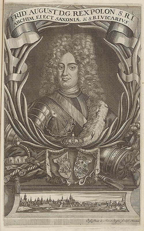Joseph de Montalegre – Portrét saského kurfirsta Friedricha Augusta  I.