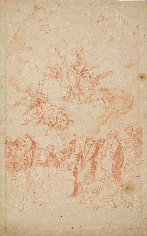 Stredoeurópsky autor z 18. storočia – Nanebovzatie Panny Márie
