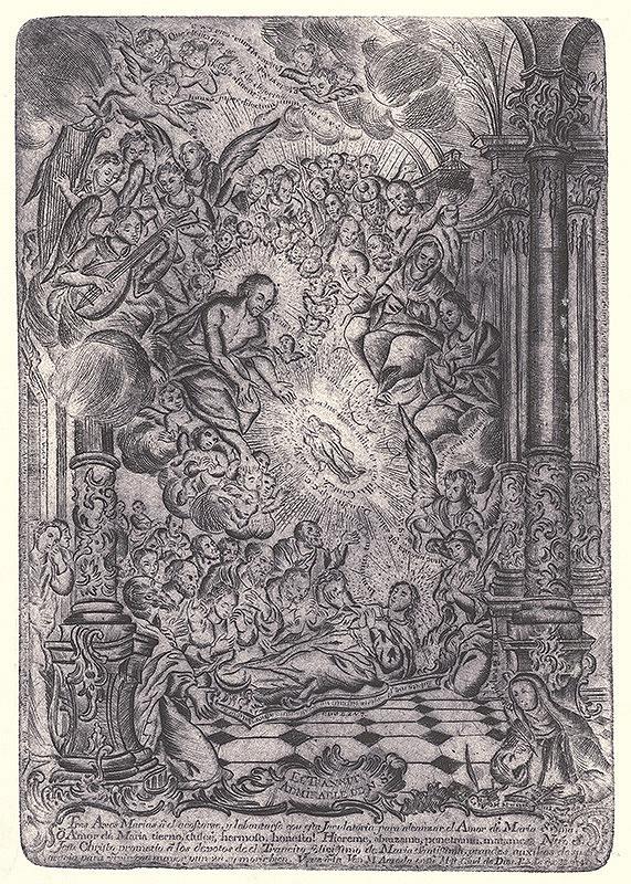 Neznámy autor – Smrť a Nanebovzatie Panny Márie