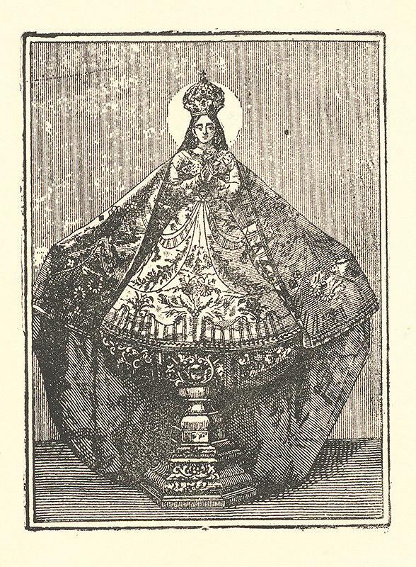 Neznámy autor - Panna Mária ako votívna soška
