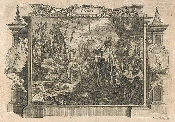 Michael Heinrich Rentz, Johann Daniel de Montalegre – Ukrižovanie svätého Ondreja (Andreja)