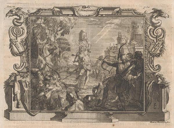 Michael Heinrich Rentz, Johann Daniel de Montalegre – Mučenie svätého Sebastiána