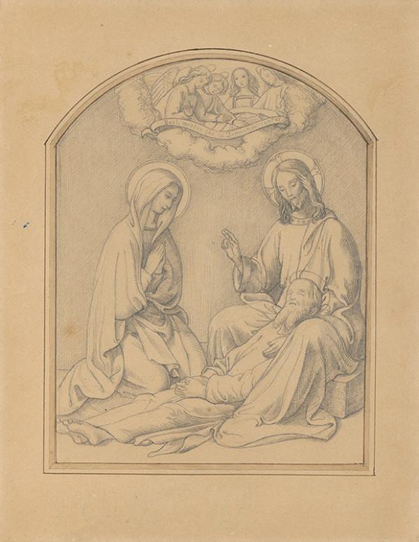 Stredoeurópsky autor z 19. storočia - Smrť svätého Jozefa