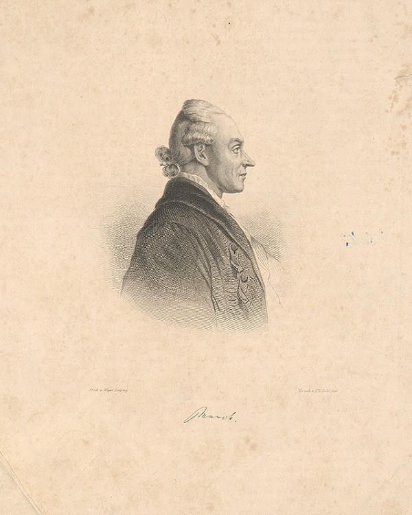 August Weger – Portrét Munika