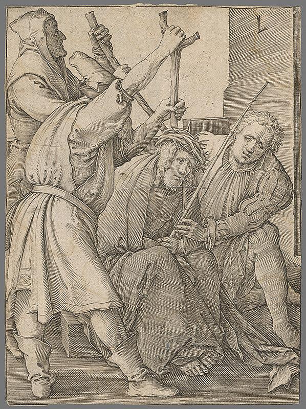 Stredoeurópsky grafik zo 16. storočia – Potupenie Ježiša