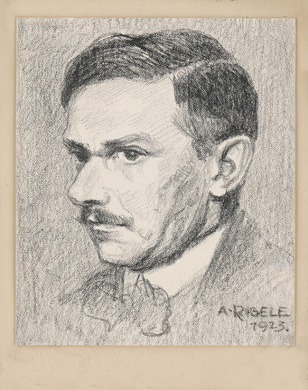 Alojz Rigele - Portrét muža