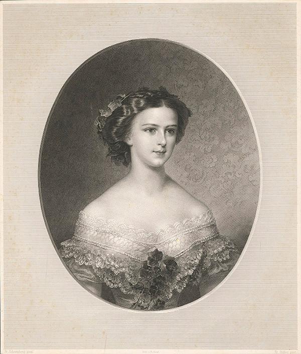 Franz Stöber, Franz Schrotzberg - Portrét cisárovnej Alžbety