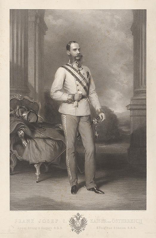 Louis Jacoby, Franz Xaver Winterhalter - Rakúsky cisár František Jozef I.