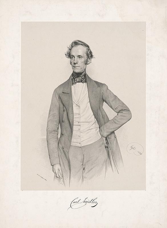 Franz Eybl - Portrét Karola Heistlera