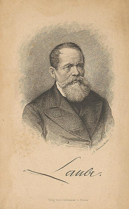 Johannes Sonnenleiter - Portrét Laubeho