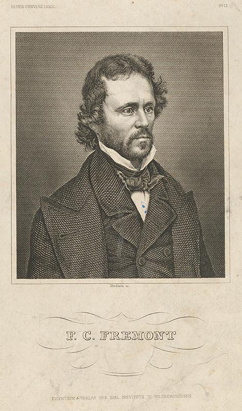 Johann Georg Nordheim – Portrét F.C.Fremonta