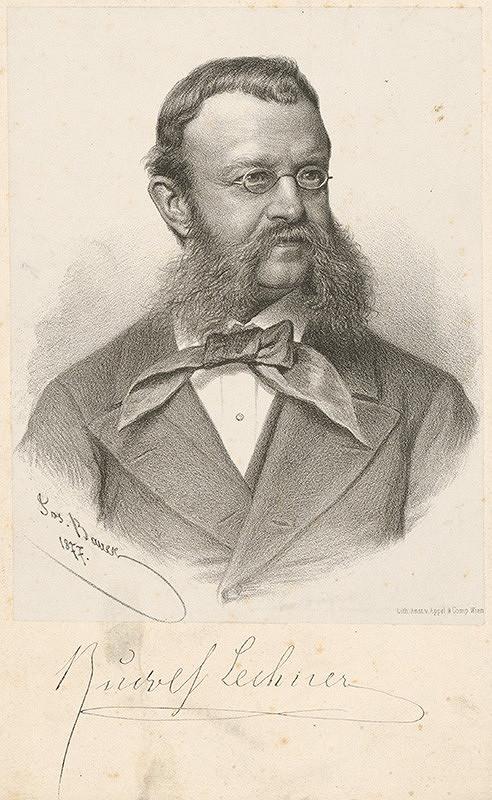 Joseph Anton Bauer, Teodor Dietz - Portrét muža