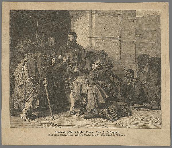 Franz von Defregger – Posledná cesta O.Hofera