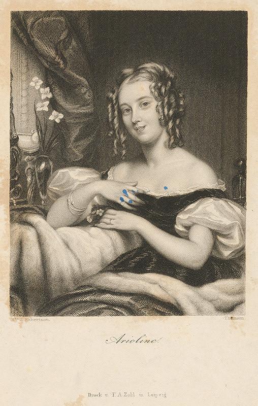 John Thomson, James Robertson – Portrét ženy