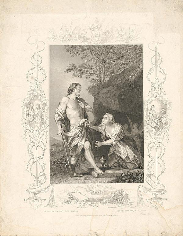 Albert Henry Payne, Nicolas Vleughels – Ježiš sa zjavuje Márii Magdaléne