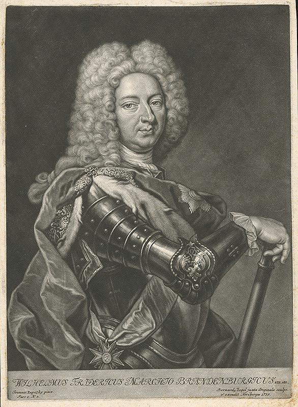 Bernhard Vogel, Ján Kupecký – Friedrich Wilhelm I. von Brandenburg (1620-1688)