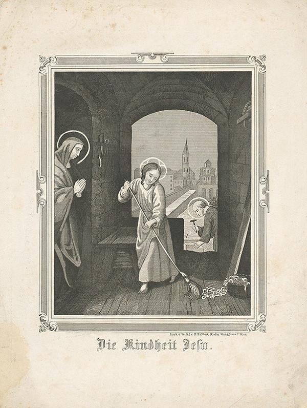 Stredoeurópsky grafik z 19. storočia – Detstvo Ježiša