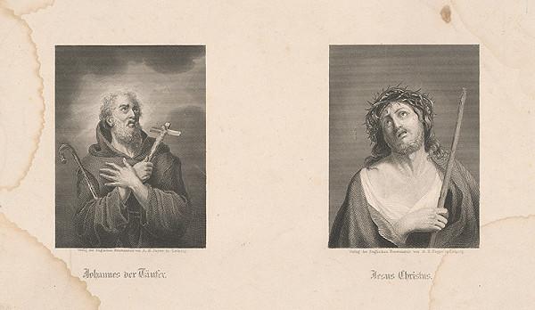 Albert Henry Payne - Dvojobraz: Ján Krstiteľ, Kristus