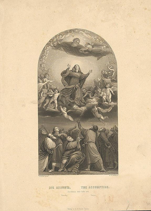 Albert Henry Payne, Titian - Nanebovzatie Panny Márie