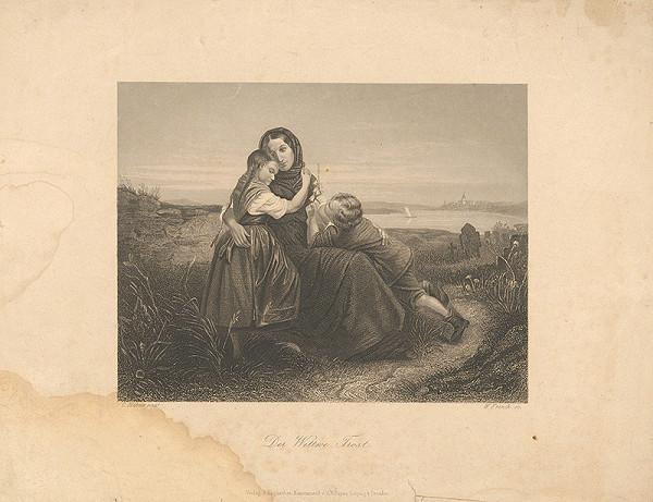 William French, Carl Hübner - Smutná vdova