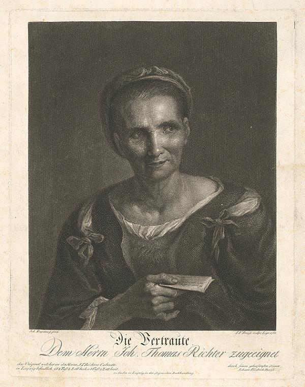 Johann Friedrich Bause, Ján Kupecký – Dôvernica