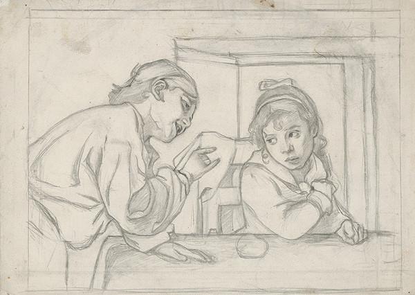Stredoeurópsky grafik z 20. storočia – Hrajúce sa deti
