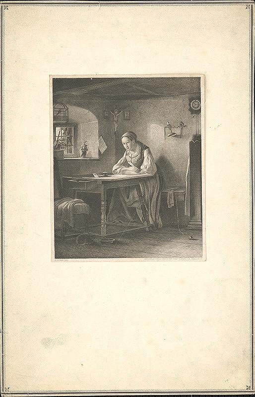 A. Hanisch, Hermann Bethke - Písanie listu