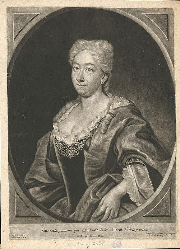 Bernhard Vogel, Ján Kupecký – Portrét ženy