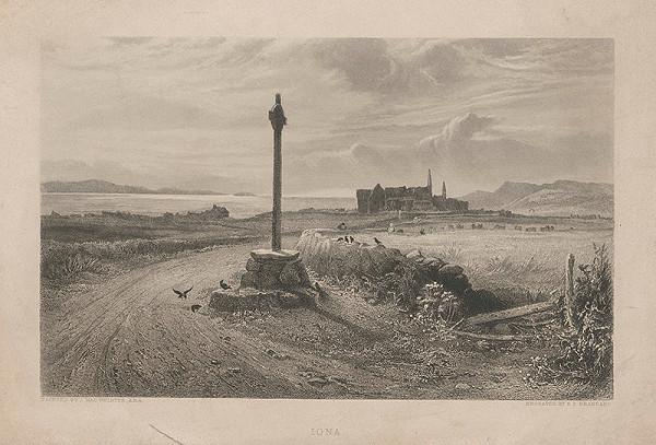 Edward Paxman Brandard, John MacWhirter – Krajina Iona