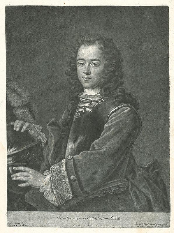 Bernhard Vogel, Ján Kupecký - Portrét markíza de Oropeza