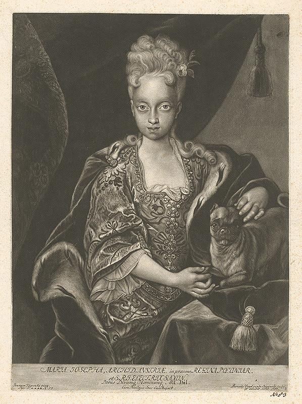 Bernhard Vogel, Ján Kupecký - Arcivojvodkyňa Mária Jozefa