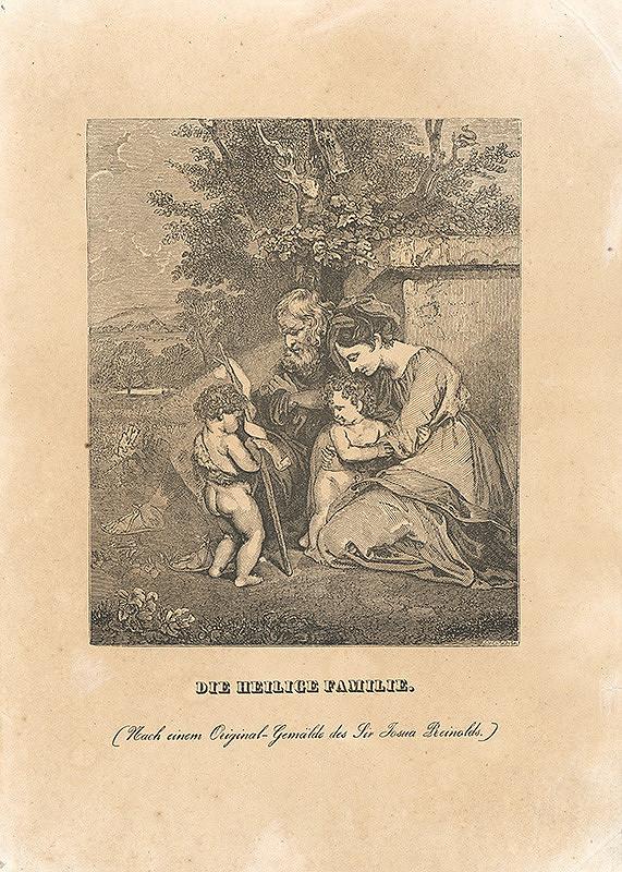 John Jackson, Joshua Reynolds - Svätá rodina