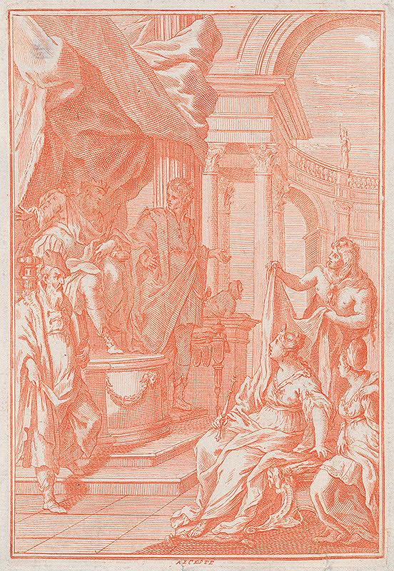Stredoeurópky grafik z 2. polovice 18. storočia – Alcesta