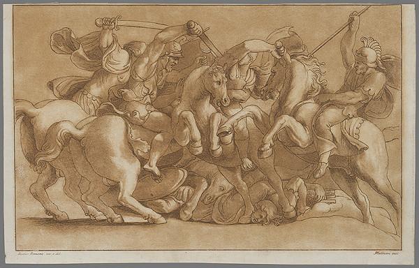 Stefano Mulinari, Giulio Romano – Jazdecký boj