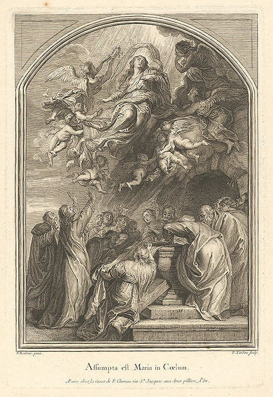 Peter Paul Rubens, Pierre Alexandre Tardieu – Nanebovzatie Panny Márie