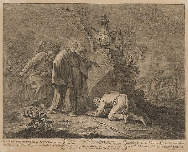 Johann Christoph Winkler - Ježiš lieči chorých