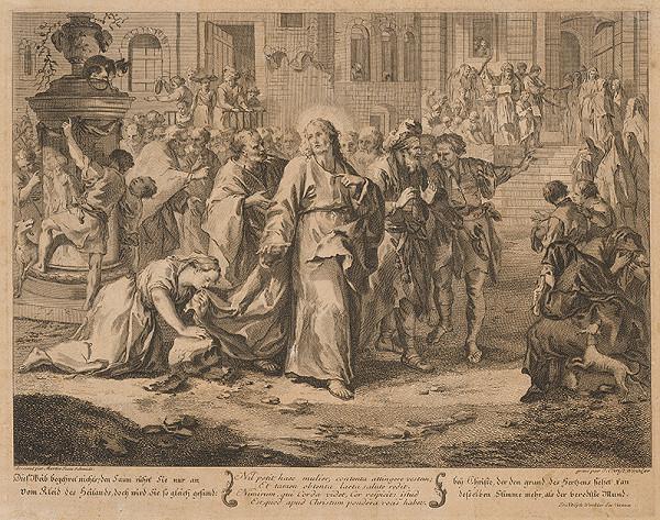 Johann Christoph Winkler, Johann Martin Schmidt – Ježiš lieči chorých