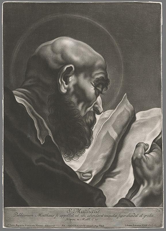 Johann Lorenz Haid, Giovanni Battista Piazzetta – Sv.Matúš