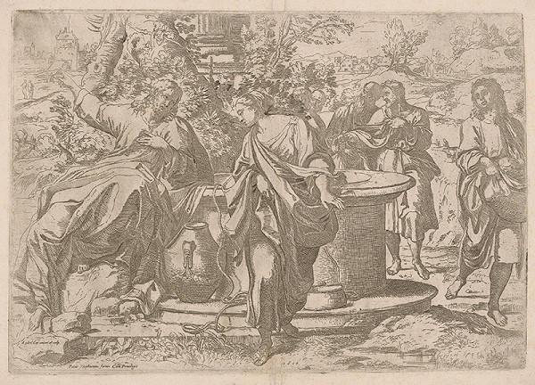 Annibale Carracci, Guido Reni, Pietro Stefanoni – Kristus a samaritánka