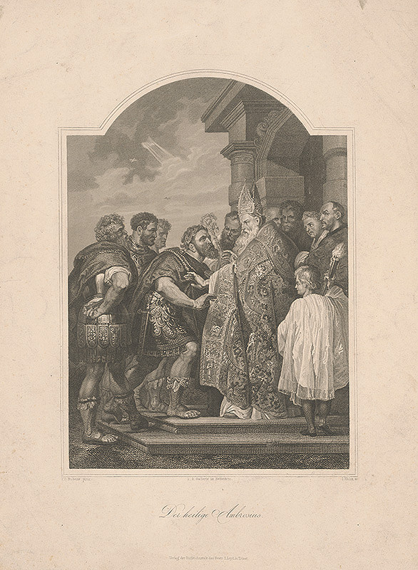 Joseph Hahn, Peter Paul Rubens – Svätý Ambrozius