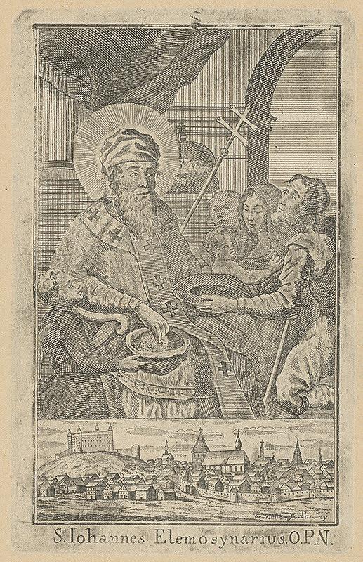 Sebastian Zeller – Svátý Ján Almužník
