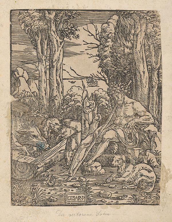 Balthasar Sigmund Setletzky – Znázornenie Prvej knihy Mojžišovej